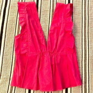 Zara Hot Pink Top